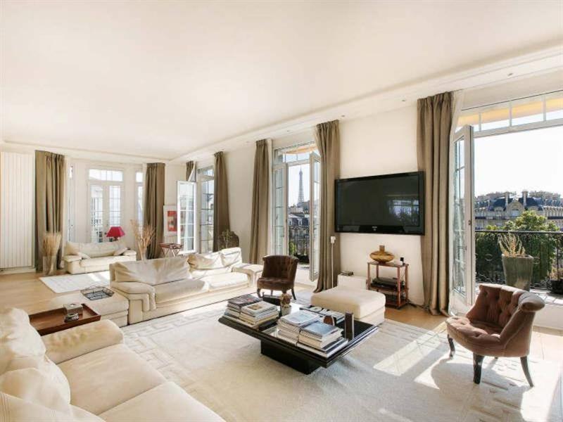 Revenda residencial de prestígio apartamento Paris 16ème 4500000€ - Fotografia 3