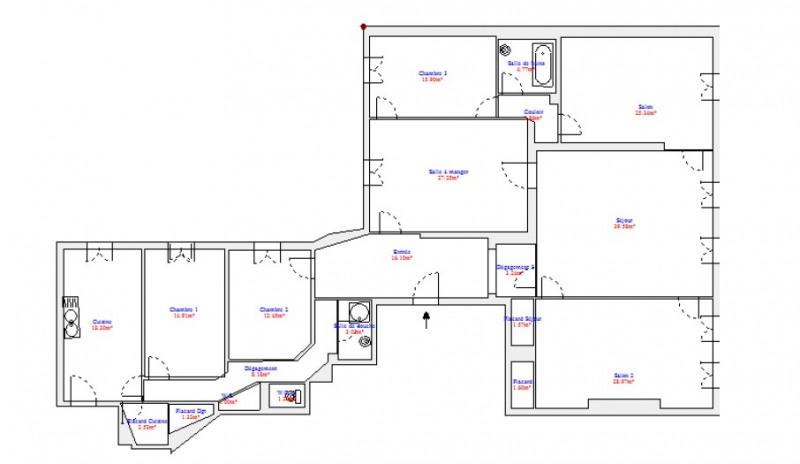 Location appartement Paris 6ème 6260€ CC - Photo 6