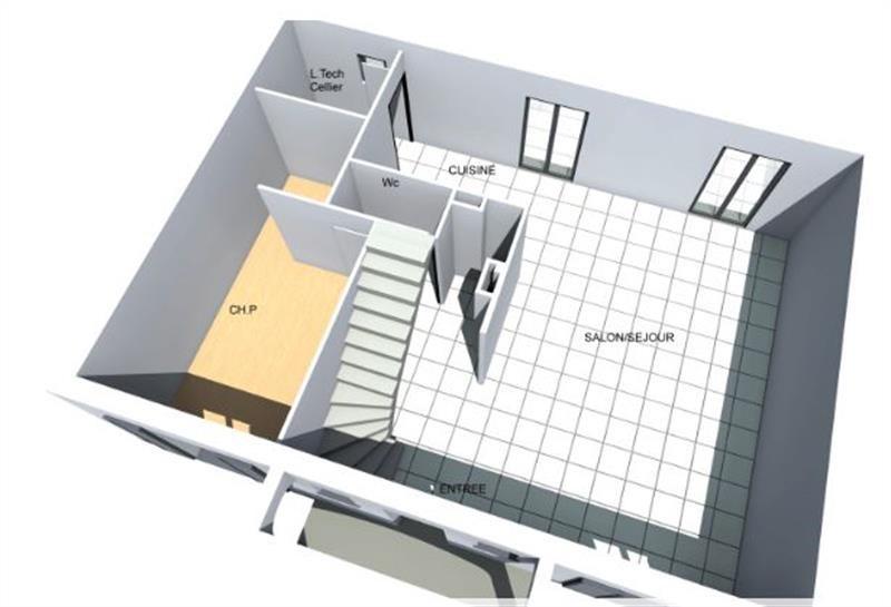 """Modèle de maison  """"Modèle de maison 6 pièces"""" à partir de 7 pièces Oise par VILLACREA"""
