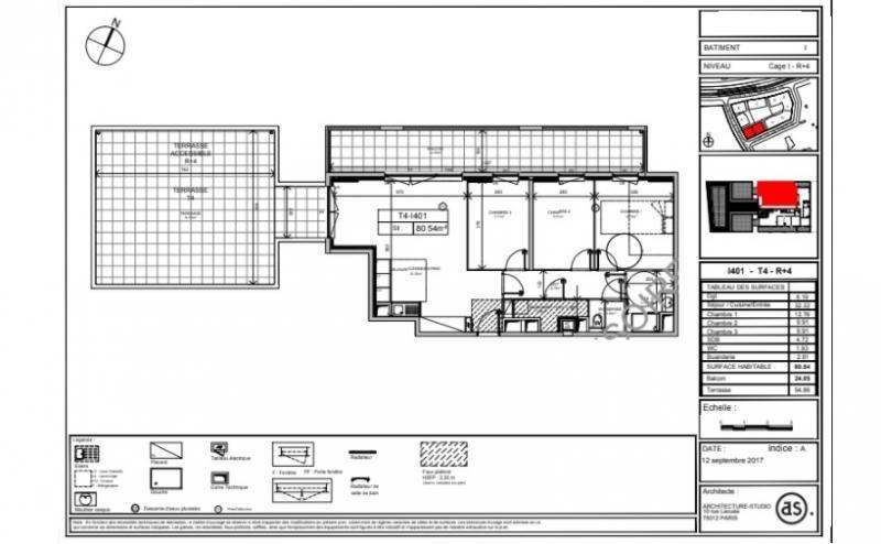 Sale apartment Montpellier 475000€ - Picture 1