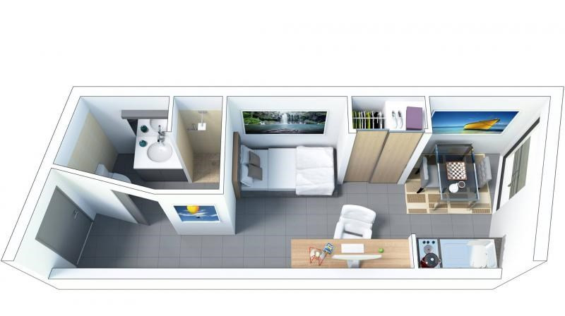 Vente appartement St denis 88000€ - Photo 3