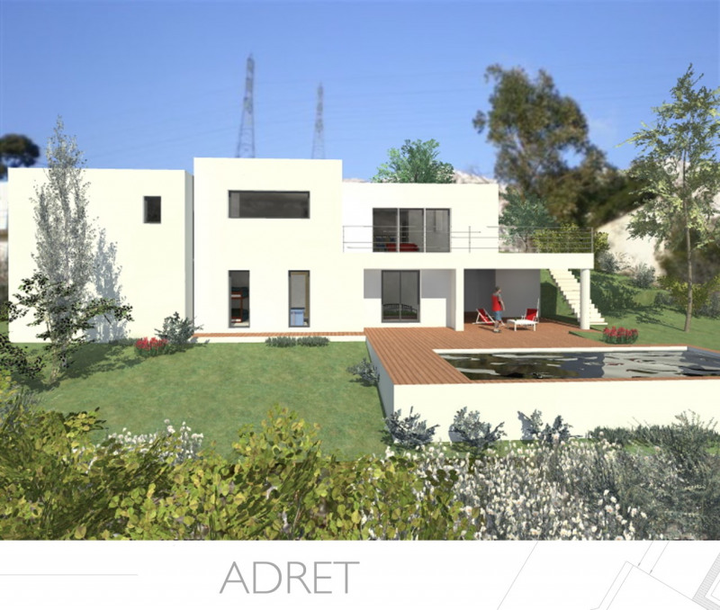 """Modèle de maison  """"Modèle de maison 5 pièces"""" à partir de 5 pièces Alpes-Maritimes par PROVENCE ARCHITECTURE"""