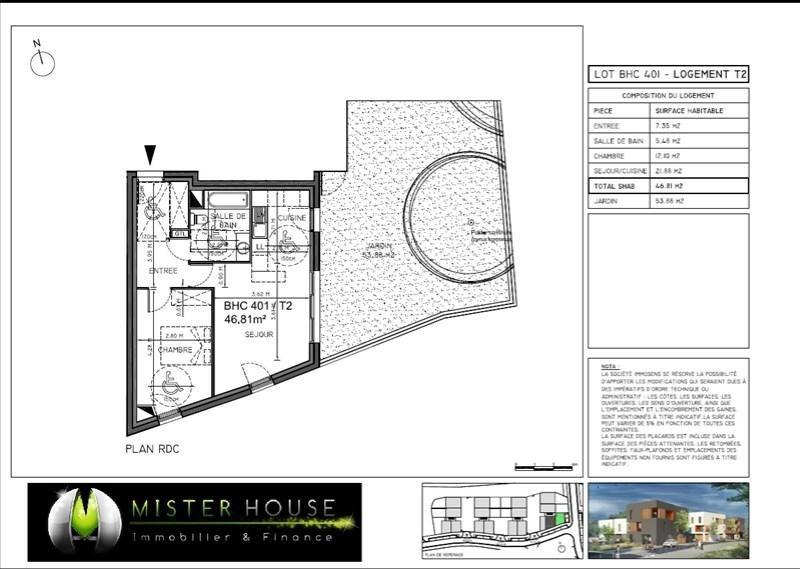 Vendita appartamento Montauban 119844€ - Fotografia 2