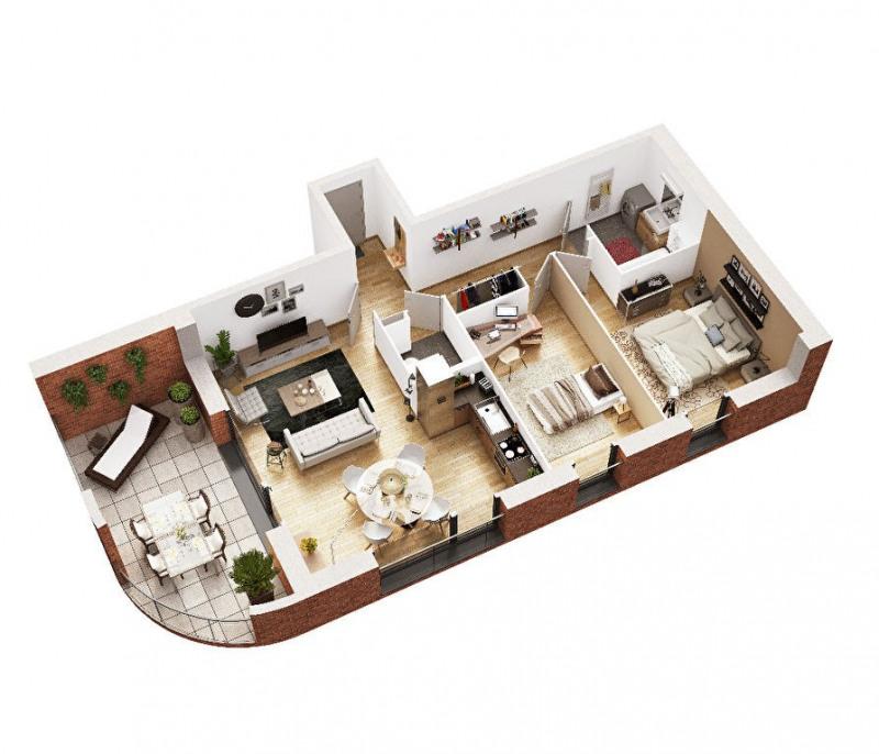Vente appartement Seclin 137000€ - Photo 3
