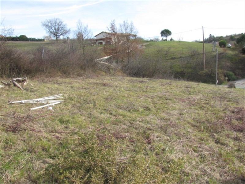 Vente terrain Villebrumier 54000€ - Photo 1
