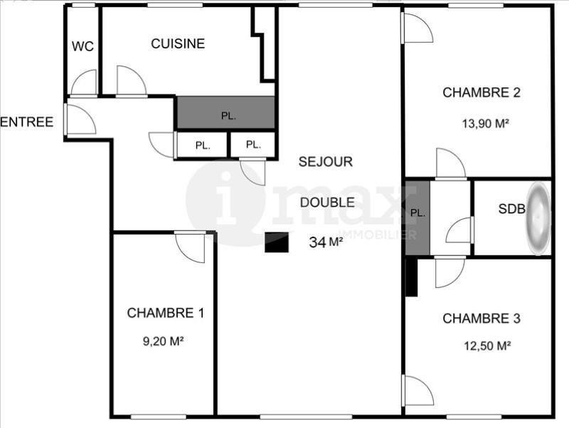 Vente appartement Courbevoie 460000€ - Photo 1