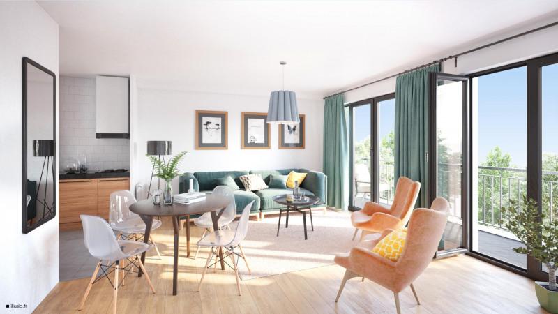 Vente appartement Vaires sur marne 315440€ - Photo 2