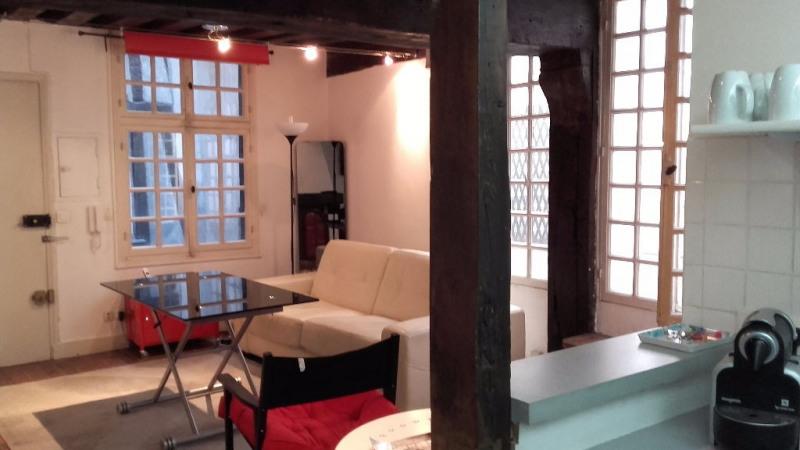 Vente Studio 30m² Paris 4ème
