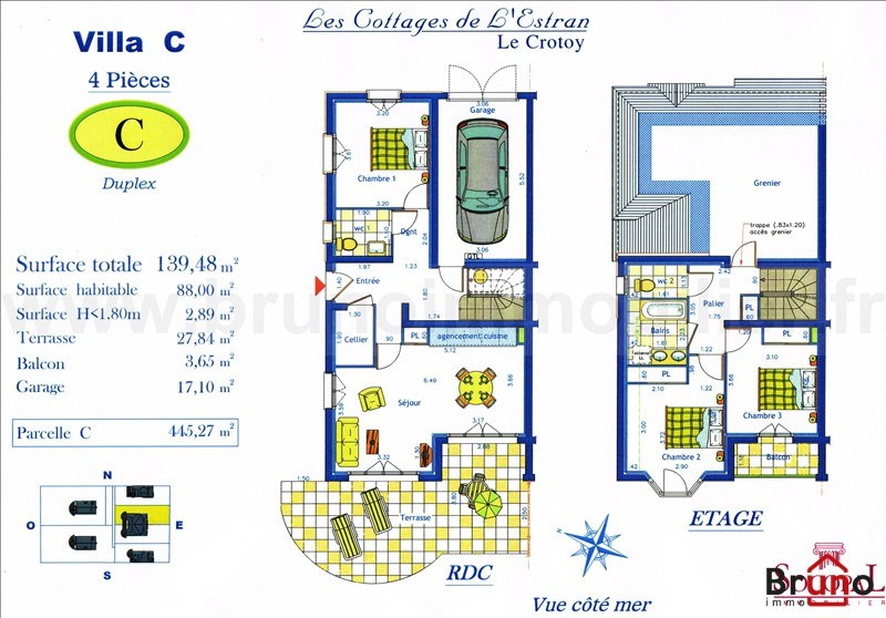 Verkoop van prestige  huis Le crotoy 430000€ - Foto 4