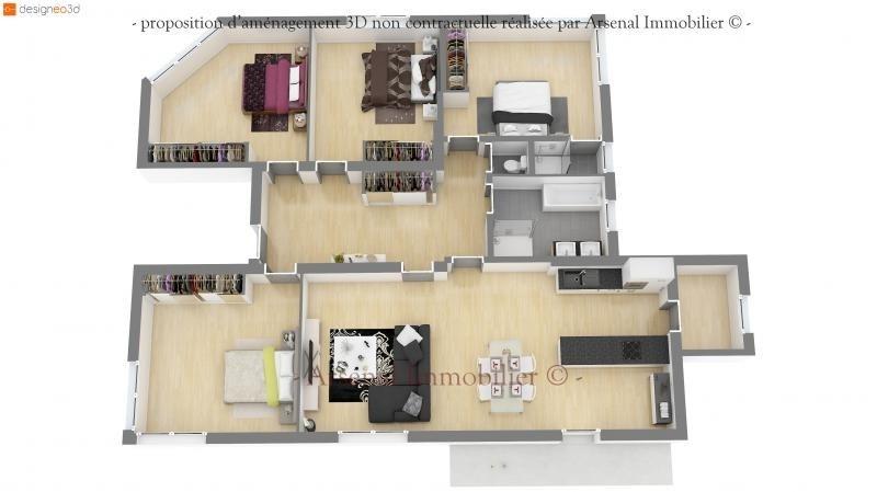 Revenda apartamento Metz 270000€ - Fotografia 2