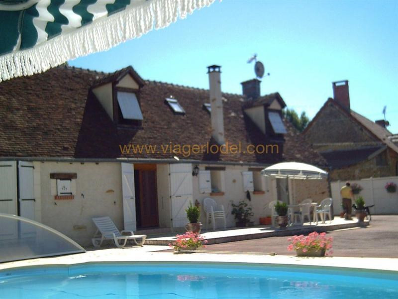 Viager maison / villa Saint-christophe-en-bazelle 40000€ - Photo 1