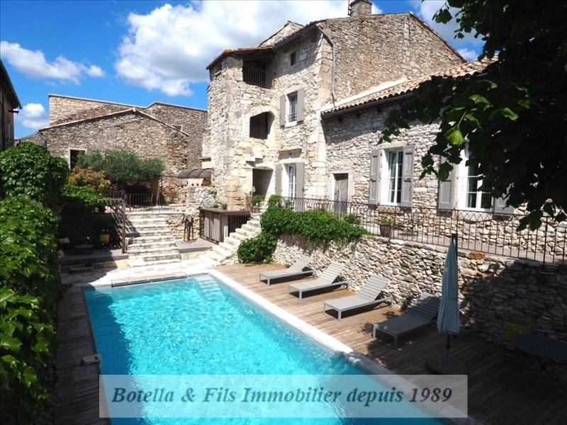 Verkauf von luxusobjekt haus Uzes 995000€ - Fotografie 1