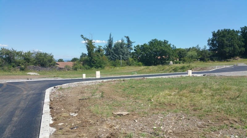 Vente terrain Chomérac 97 685€ - Photo 1