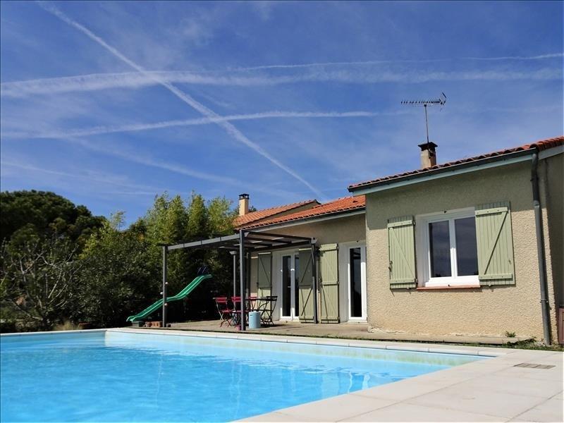Sale house / villa Aussonne 348000€ - Picture 1