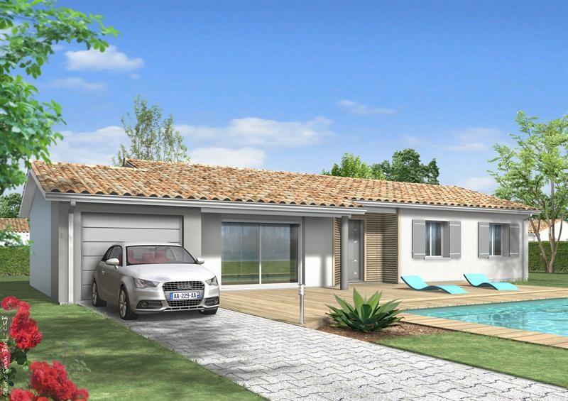 Maison  5 pièces + Terrain 2100 m² Riscle (32400) par LES MAISONS LCA MONT DE MARSAN