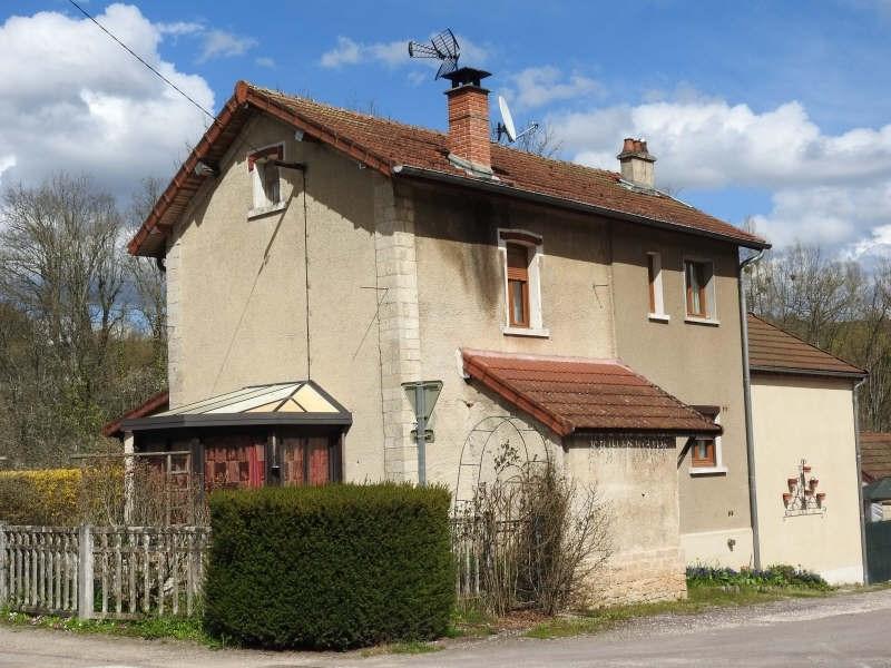 Vente maison / villa Secteur recey s/ource 118000€ - Photo 12