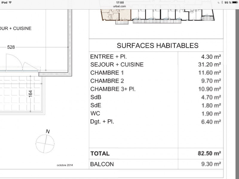 Vente appartement Avignon 281 000€ - Photo 2