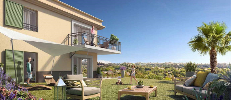 Sale apartment La-colle-sur-loup 246000€ - Picture 1
