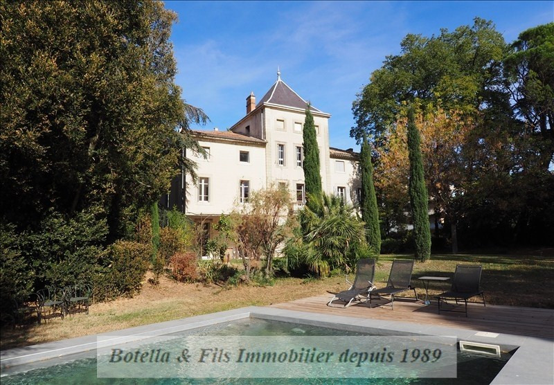 Deluxe sale chateau Uzes 889 000€ - Picture 1