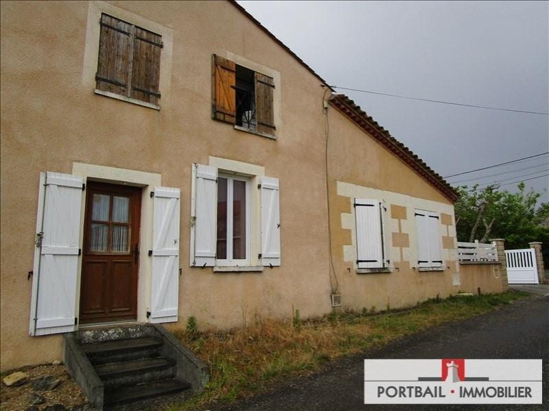 Vente maison / villa St ciers sur gironde 122000€ - Photo 2