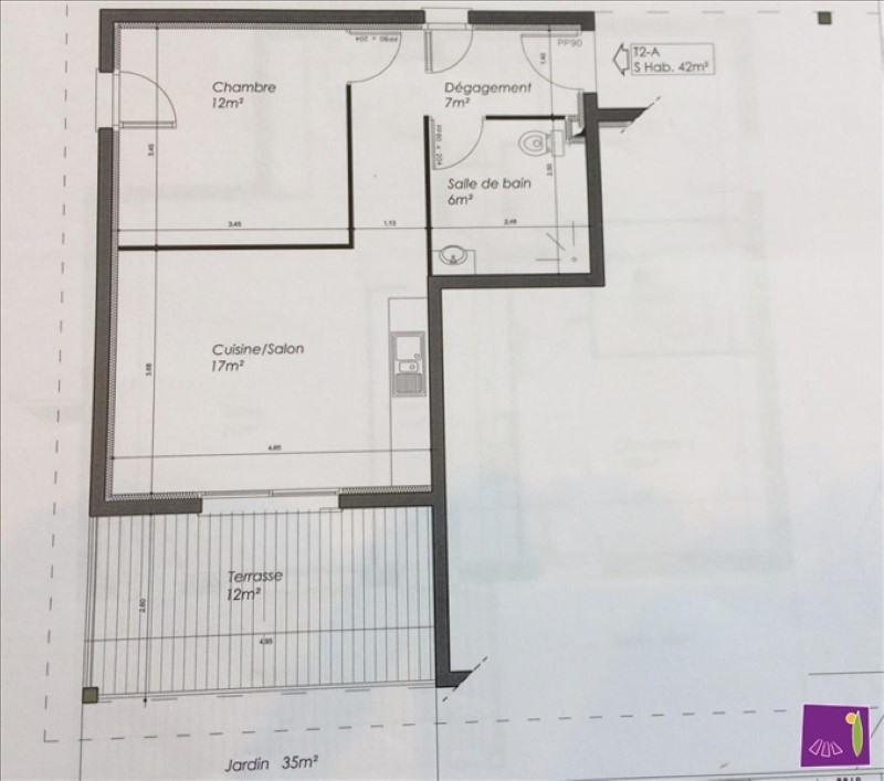 Vente appartement Bagnols sur ceze 125000€ - Photo 2