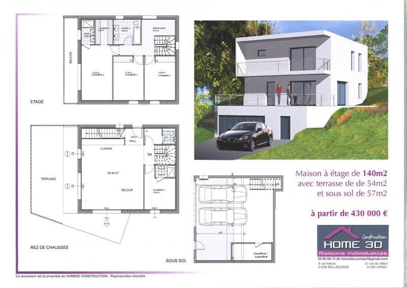 Votre future maison sur environ 670 m² de terrain