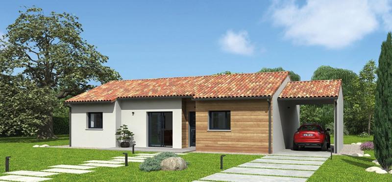 """Modèle de maison  """"Modèle NATIBAO 5 pièces"""" à partir de 5 pièces Landes par NATILIA CAPBRETON"""