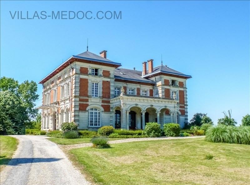 Vente de prestige maison / villa Lesparre medoc 1733000€ - Photo 1