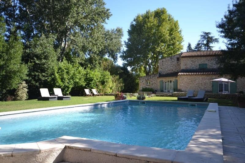 Vente de prestige maison / villa Avignon extra muros 834000€ - Photo 1