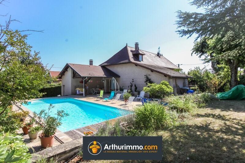 Deluxe sale house / villa Dolomieu 404000€ - Picture 1