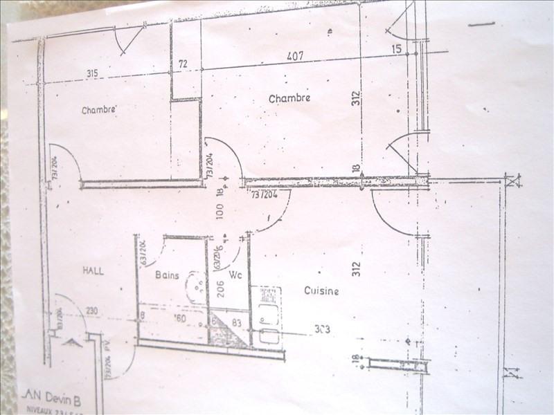 Vente appartement Les arcs 1600 199000€ - Photo 2