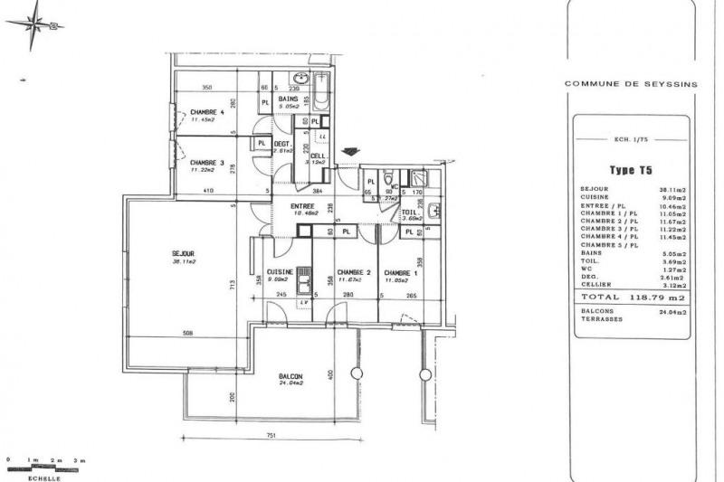 Vente appartement Seyssins 495000€ - Photo 5