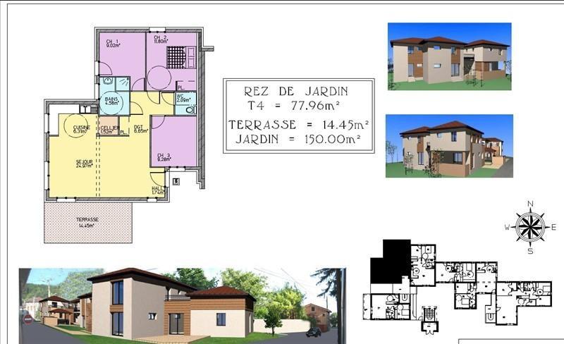 Vente appartement Bourgoin jallieu 219000€ - Photo 8