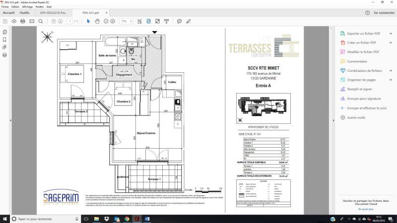 Vente appartement Gardanne 270000€ - Photo 2