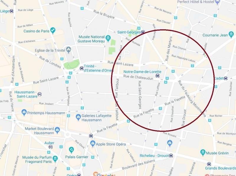 Location local commercial Paris 9ème 36000€ HT/HC - Photo 1