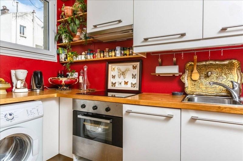 Rental apartment Paris 18ème 1100€ CC - Picture 4