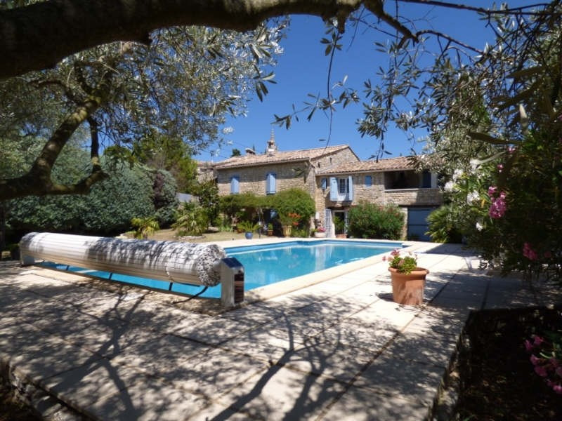 Immobile residenziali di prestigio casa Goudargues 579000€ - Fotografia 10