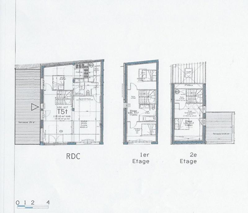 Sale apartment Nantes 466000€ - Picture 1