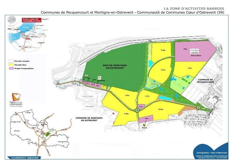 Location Local d'activités / Entrepôt Montigny-en-Ostrevent 0