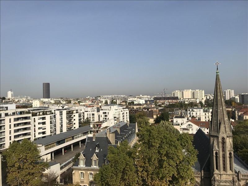 Rental apartment Paris 14ème 850€ CC - Picture 1