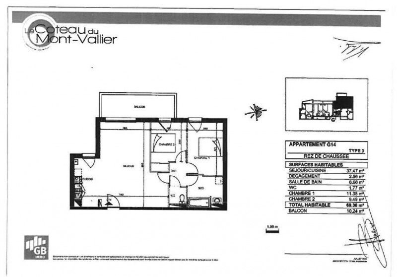 Rental apartment Colomiers 740€ CC - Picture 8