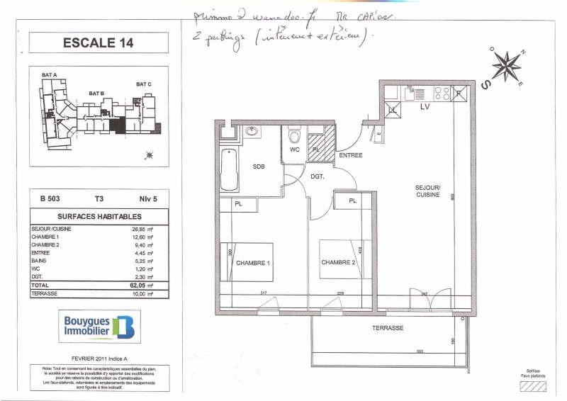 Rental apartment Sete 714€ CC - Picture 1