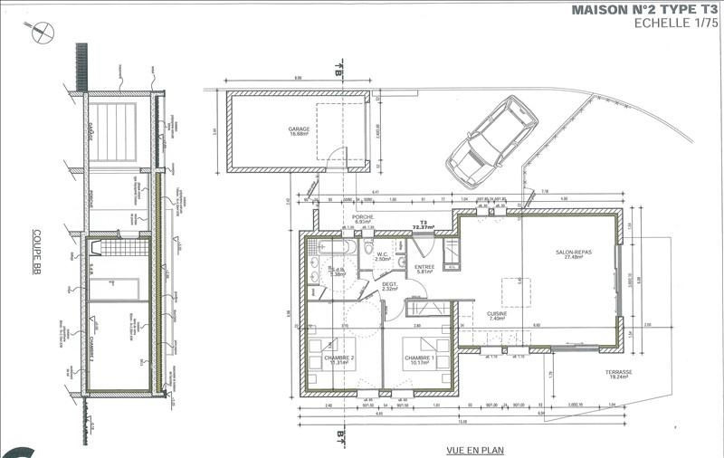 Vente maison / villa Boucau 273000€ - Photo 2