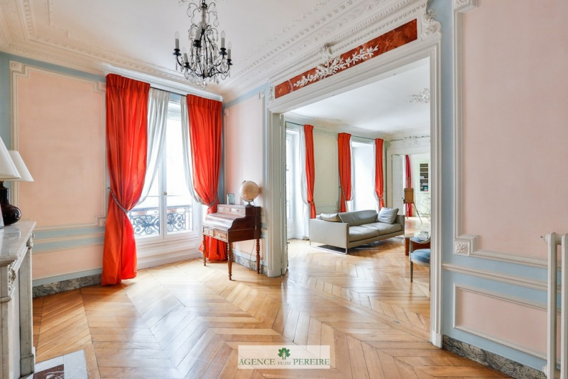 Vente de prestige appartement Paris 9ème 1550000€ - Photo 2