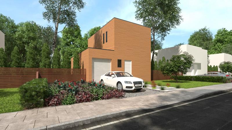 """Modèle de maison  """"Modèle maison bois T5"""" à partir de 5 pièces Gard par MAISONS BOIS BILOBA"""