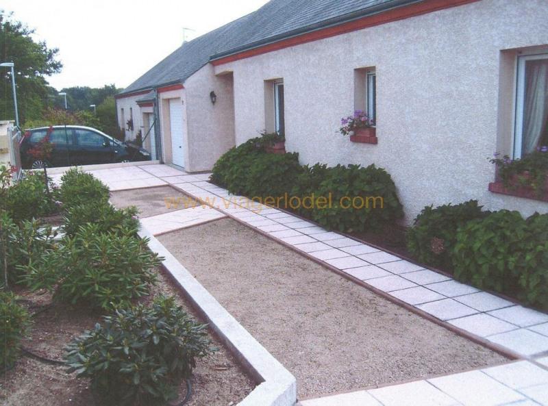 Vendita nell' vitalizio di vita casa Les bordes 43000€ - Fotografia 1