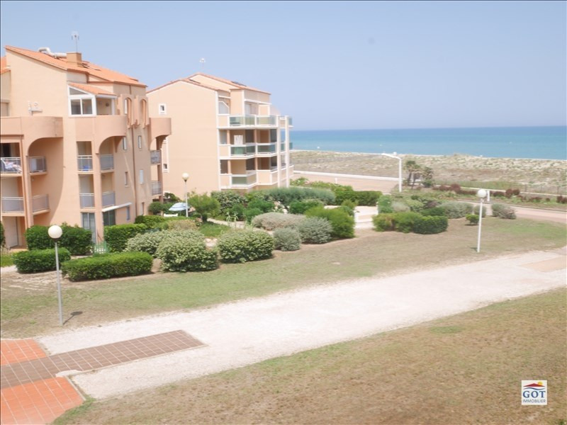 Sale apartment Le barcares 70 500€ - Picture 3