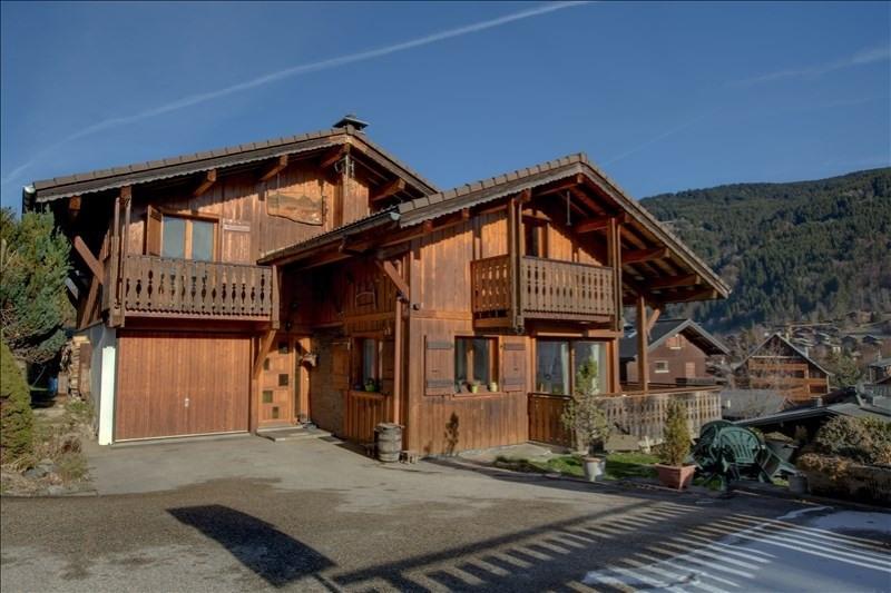 Deluxe sale house / villa Morzine 850000€ - Picture 1