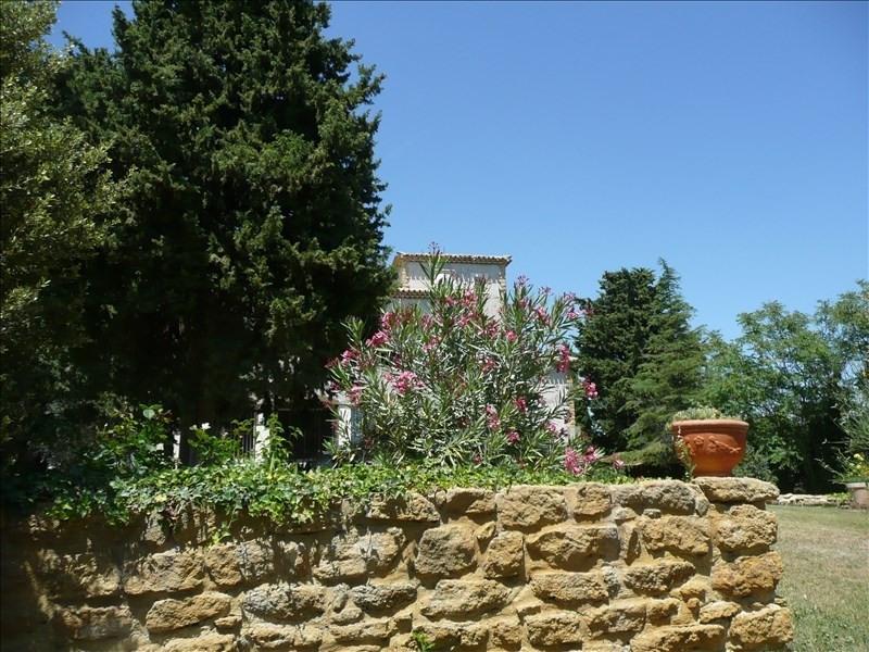 Vente de prestige maison / villa Vacqueyras 700000€ - Photo 1
