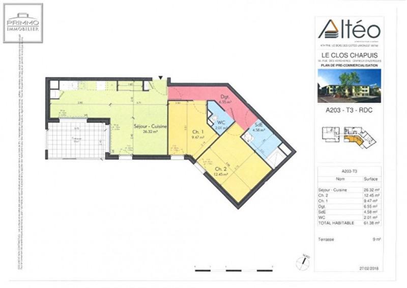 Programme neuf 3 pièce(s) 61.38 m2
